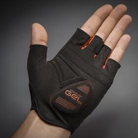 GripGrab Solara Lightweight Padded Tan Through Halve Vinger Handschoenen, red